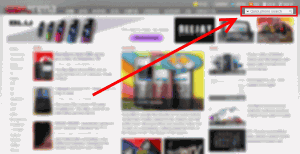 Strona główna gsmarena - wskazane pole wyszukiwania