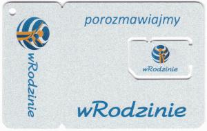 Karta SIM operatora wRodzinie