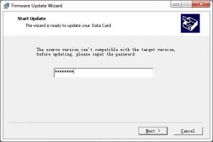 Program aktualizujący flash modemu E173 - Wpisywanie kodu FLASH