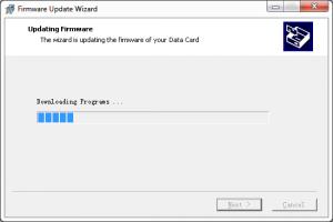Program aktualizujący flash modemu E173 - Aktualizacja