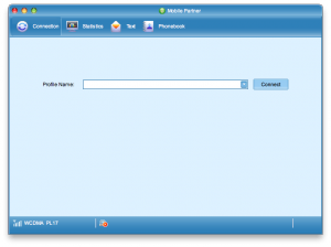 Mobile Partner wOSX gotowy doskonfigurowania