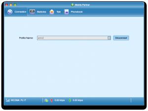 Mobile Partner wOSX - nawiązane połączenie zAero2