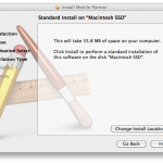 Instalator Mobile Partner wOSX - ekran 4