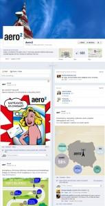 Zrzut wyglądu fanpage Aero2
