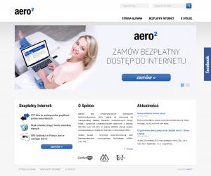 Wygląd nowej strony aero2.pl z24 grudnia 2013