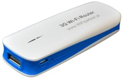 WPR 1800 - widok góry, zasilania igniazda USB