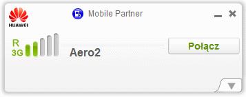 Mobile Partner - nawiązywanie połączenia