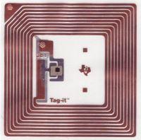 Etykieta RFID dozabezpieczania np., ubrań