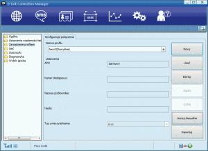 Utworzony profil dla Aero2 waplikacji DCM