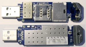 Wnętrze modemu DWM-156 A7