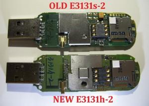 Porównanie E3131s-2 zE3131h-2 odwewnątrz