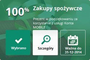 Wybrana mOkazja mBank mobile