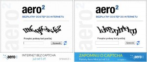 Porównanie starej inowej reklamy Aero2 mini