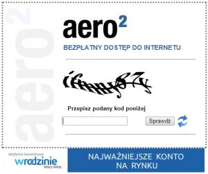 Reklama wRodzinie podkodem CAPTCHA