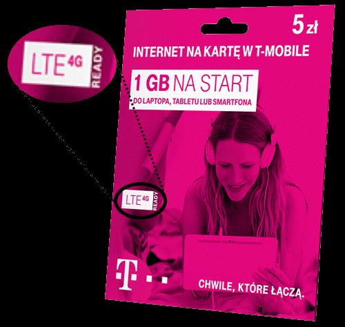 Starter LTE sieci T-Mobile bez dostępu doLTE