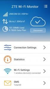 ZTE WiFi Monitor