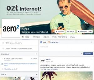 Fanpage Aero2 naFacebooku - edycja 2015