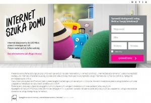 Zrzut strony internetowej promocji Netii